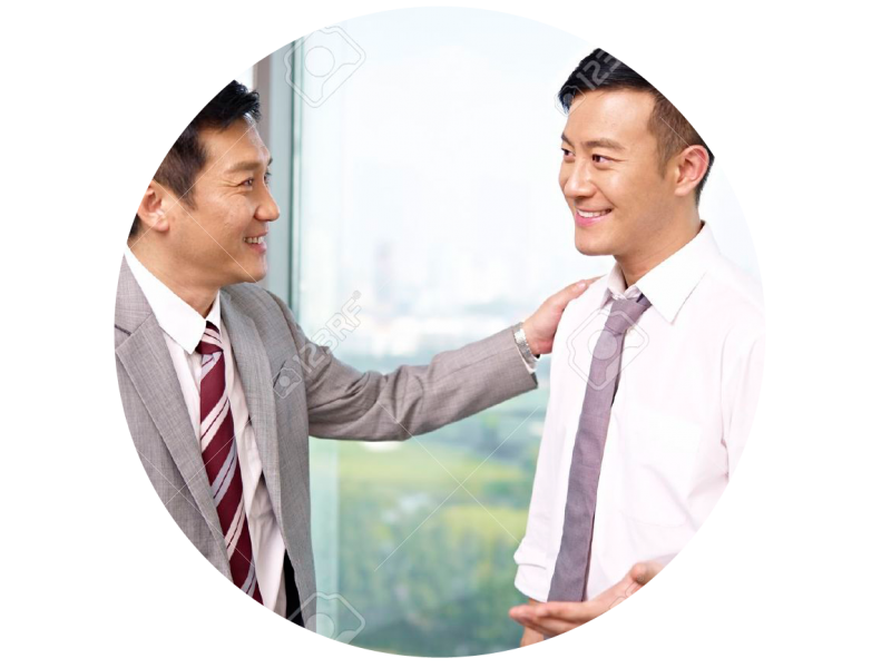 18117874-asian-businessman-standing-and-talking-in-office-Stock-Photo-boss-asian